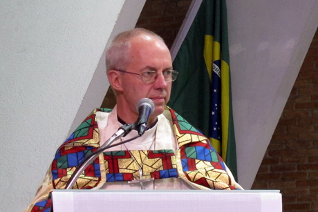 "Archbishop of Canterbury reflects on the ""pilgrimage of justice and peace"""