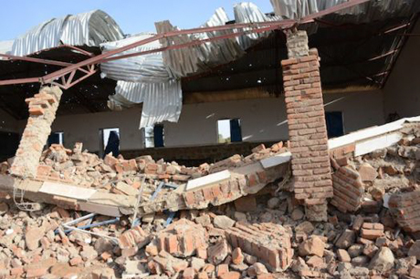 Sudanese Air Force bombs church complex in Nuba Mountains