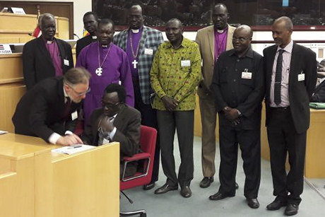 Archbishop welcomes ceasefire agreement as south sudan peace talks archbishop welcomes ceasefire agreement as south sudan peace talks continue platinumwayz