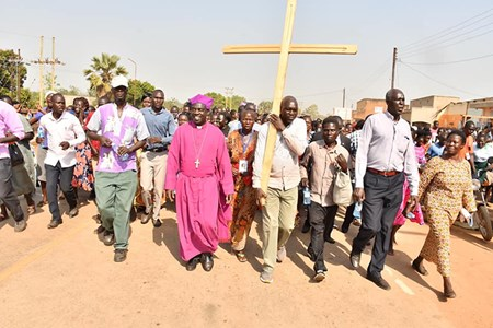 Church of Uganda stages 500km pilgrimage to commemorate Archbishop Janani Luwum