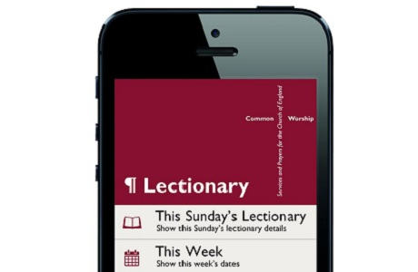 Lectionary? There's an app for that