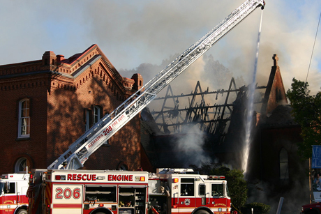 Vts _chapel _fire _roof _460
