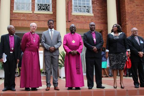 GBD-ACC16-President _Lungu _delegation