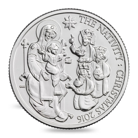 Royal -Mint -20pound -Christmas -2016-nativity