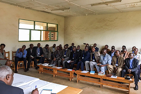 Lampal _students _kigali _theological _college