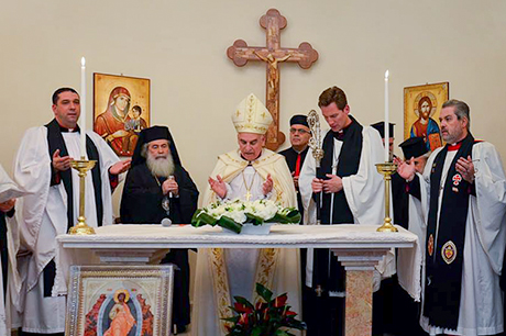 Dio _jerusalem _acre _church _rededication _2