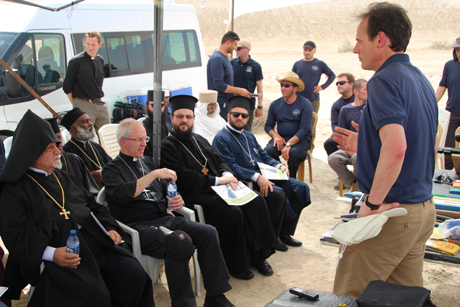 GBD_ABC-Justin -Welby -Orthodox -leaders -briefing -Halo -Trust -de -mining -Jesus -baptism -site