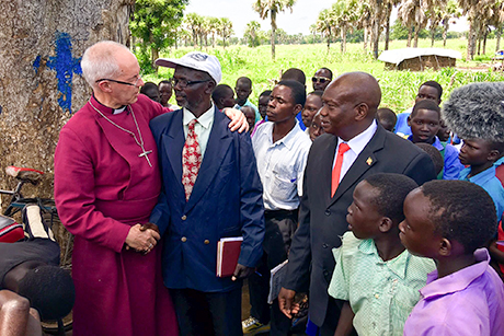 'Testing but wonderful' - Archbishop Justin reflects on Sudan and Uganda trip