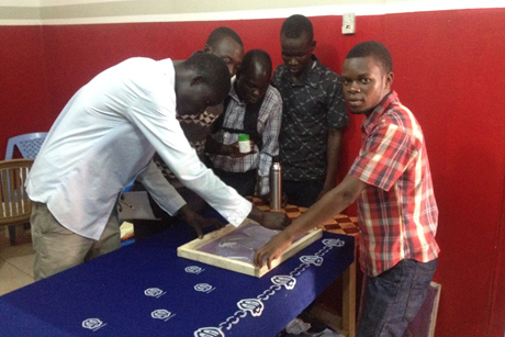 Kenyi -Dube _Front -Line -Ministries -training -session -youth
