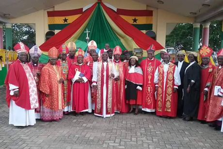 Central Africa _consecration -Bp -Felix -Odei -Annancy