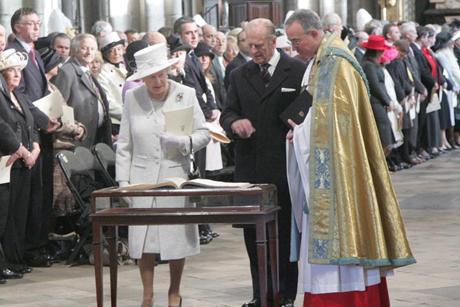 WAbbey _Queen -Elizabeth -Prince -Philip -Diamond -Wedding -2007