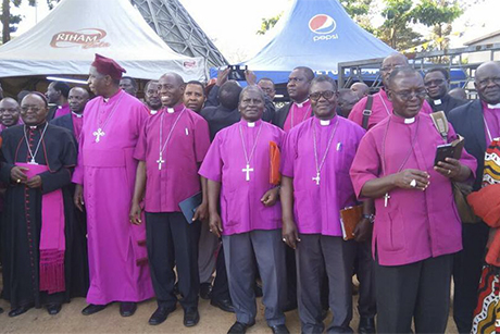 Bp -Henry -Katumba -Diocese -West -Buganda _Namugongo -Uganda -Martyrs -Shrine -Anglican -Roman -Catholic -bishops -May 2018_460x 307