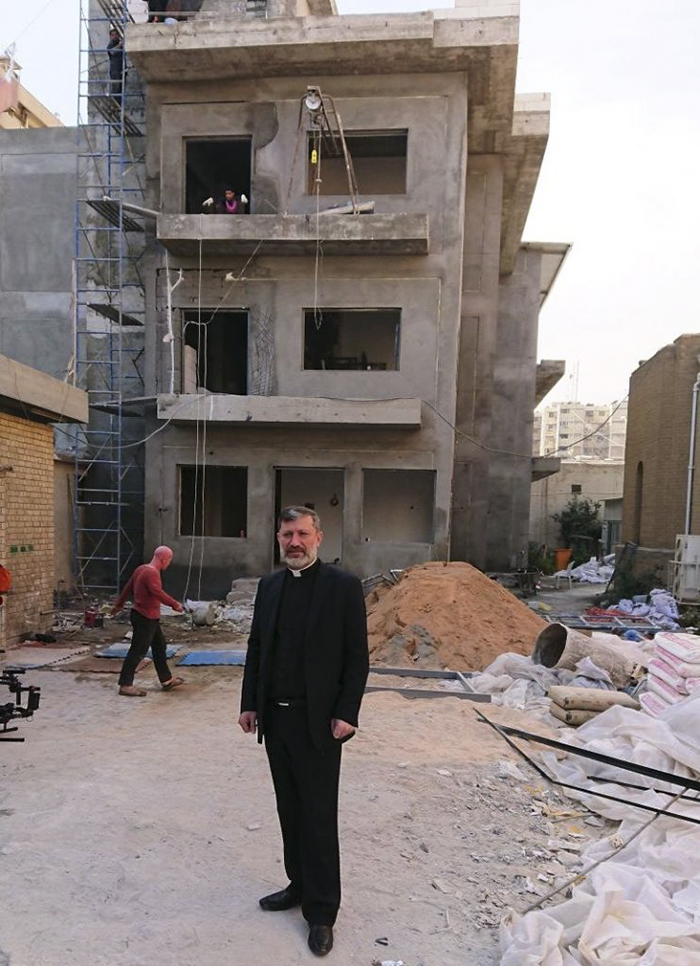 FRRME_Father -Faiz -Jerjees -St -Georges -Baghdad -Redeemer -Primary -School -construction _700x 966