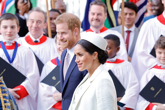 WAbbey -Pict Part _Commonwealth -Day -Service -2019-Duke -Duchess -Sussex _700x 467