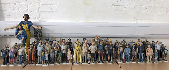 Strange -Cargo _art -exhibition -3d -congregation -parishioners -abc -Justin -Welby -St -Peters -Folkestone _700x 290